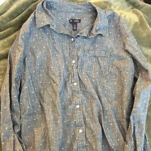GAP Denim Star Shirt